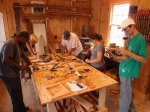 Courtesy: J.R. Portman, Students working at the Preservation Resource Center mill shop
