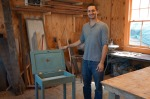 J.R. Portman and his chalk paint table