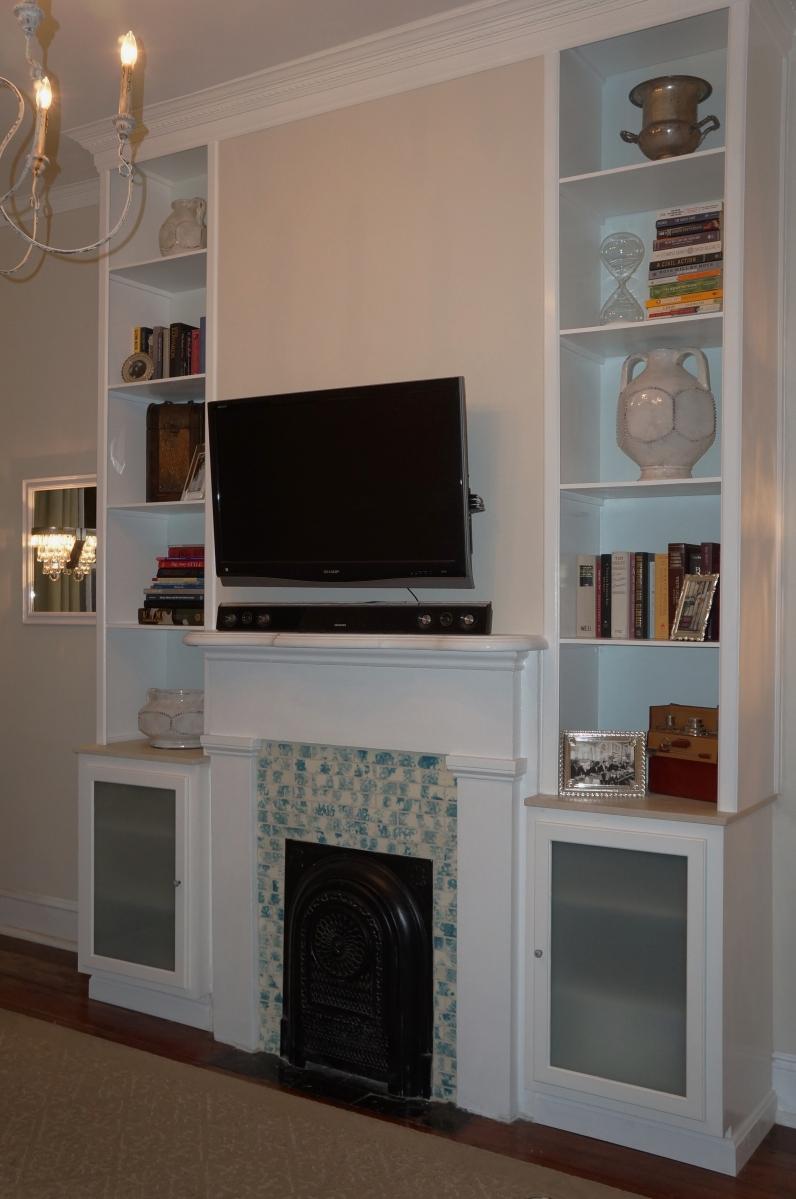 kitchen design gallery built in cabinets in living room. Black Bedroom Furniture Sets. Home Design Ideas