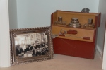 Wedding photo and vintage bar set