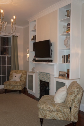 Living Room CabinetryComplete