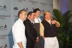 Chefs Marc Forgione, Emeril Lagasse, Joseph Lenn and Mario Batali
