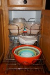 Pull-out Rev-A-Shelf baskets