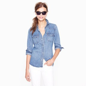 Fashion Friday: How to Style a Chambray Shirt