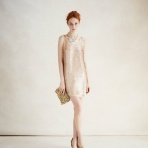 Anthropologie Gatsby Paillettes Dress