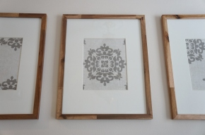 Framed Fabric WallArt