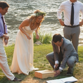 Wedded Bliss at the Painted RockLodge