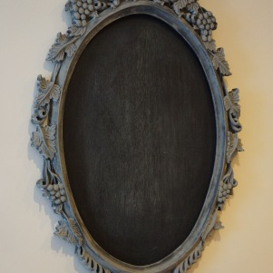 Chalkboard with frame