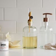 Copper Top Soap Dispensers, West Elm