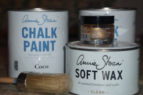 How-To: Kitchen Cabinet Chalk PaintMakeover