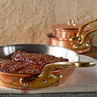 Mauviel Copper Fry Pans, Williams Sonoma