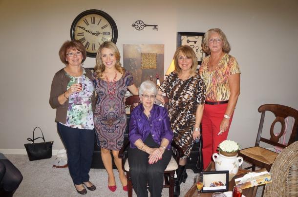 Rae Ann, me, Mimi, Mom and Rachel