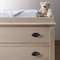 Restoration Hardware Emelia Dresser with Topper