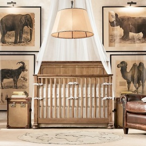 It's a Jungle Out There: Safari-Inspired Nursery