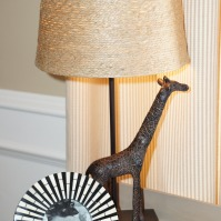 Whimsical safari details