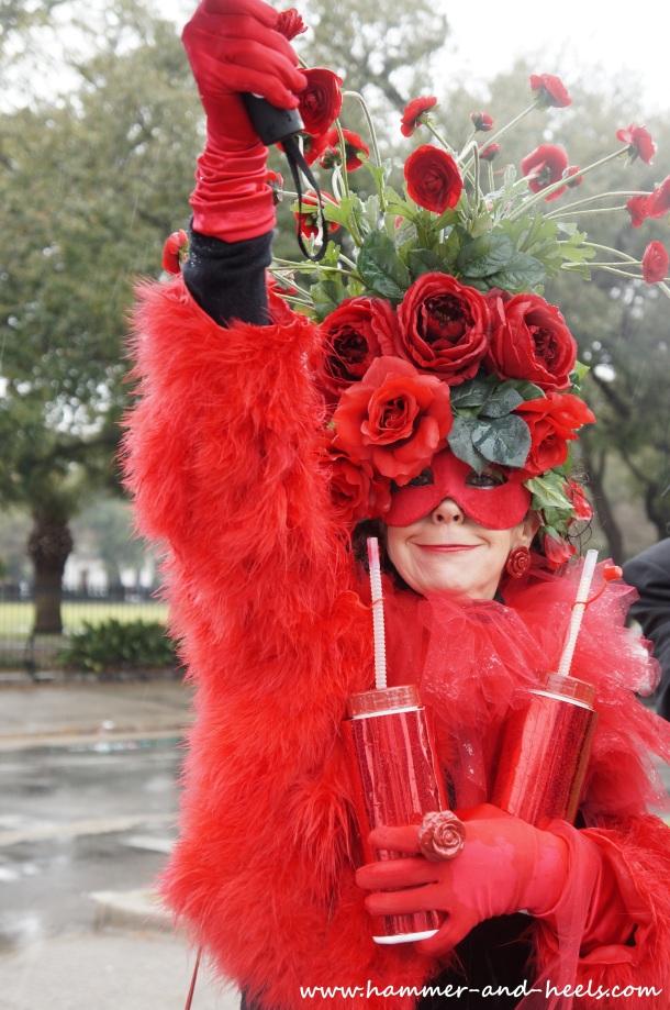 Mardi Gras Goes Rouge