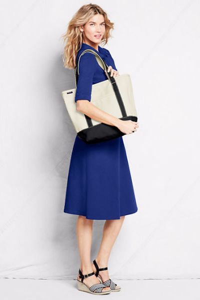 Lands End Medium Tote 25