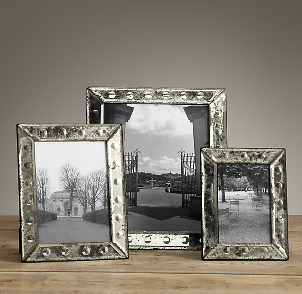 Restoration Hardware Venetian Glass Frame 39-59