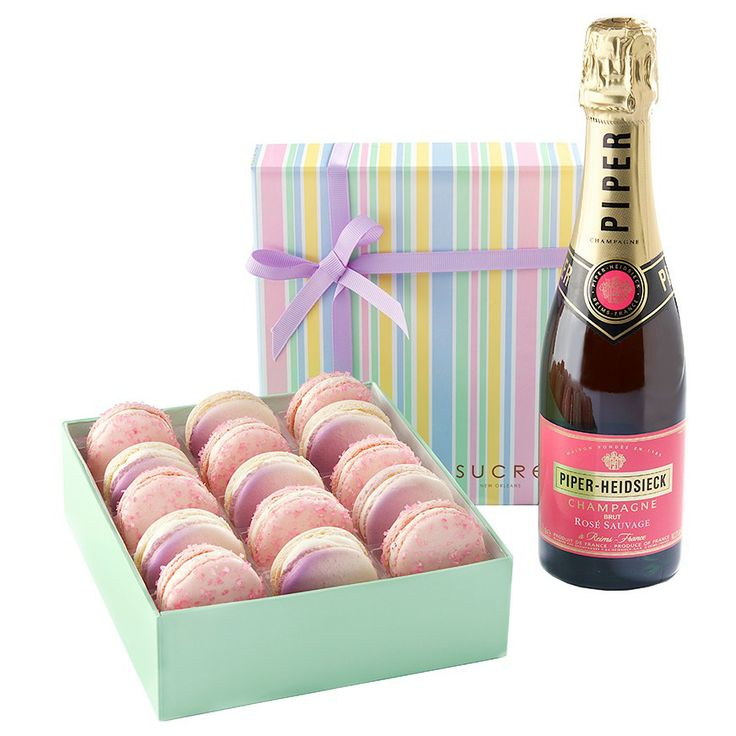 Sucre Mother's Day Macaron Collection + Piper-Heidsieck Rose Sauvage 83
