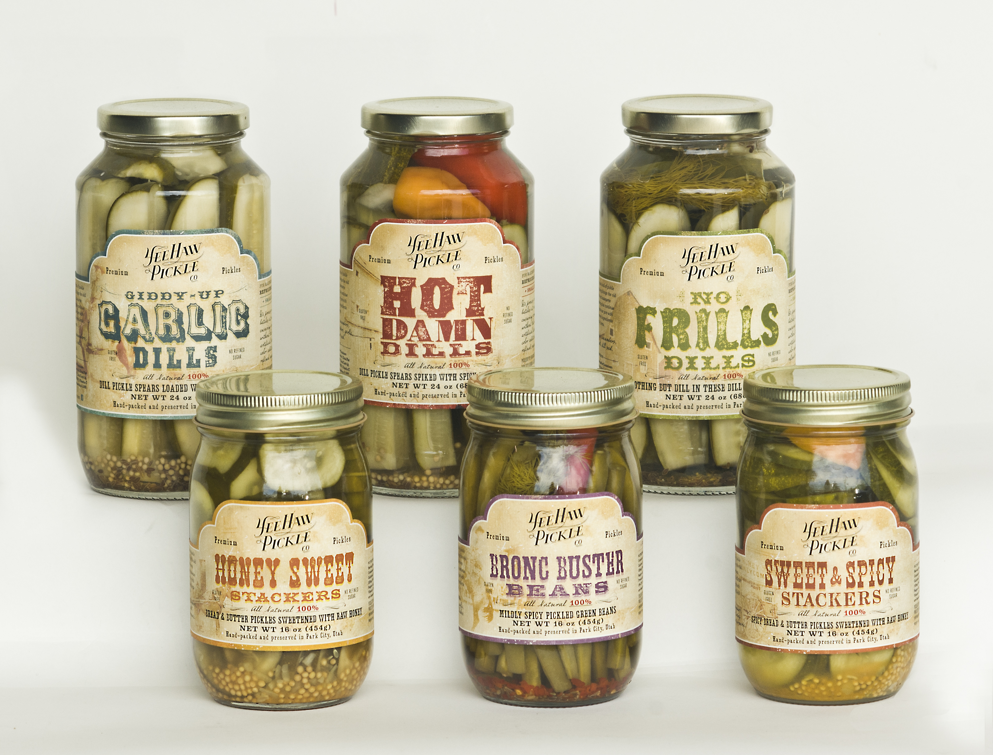 Yee Haw Pickles Sample Pack
