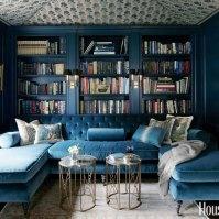 Blue Room, House Beautiful