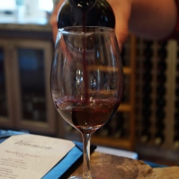 Wine tasting at Viansa Winery in Sonoma Valley