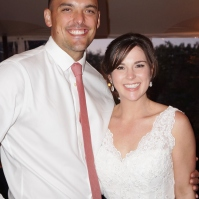 Joe and the stunning bride at Cornerstone Winery in Sonoma Valley