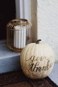 Give thanks pumpkin, Designer Trapped
