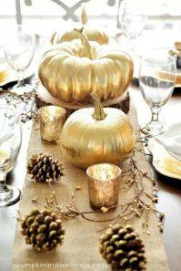 Gold and pinecones, A Pumpkin and a Princess