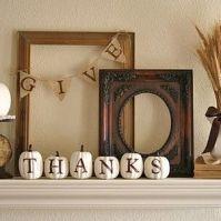 Pumpkins and frames