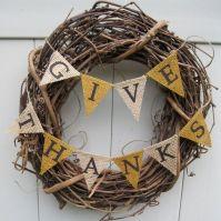 Rustic wreath, Etsy