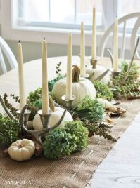 Taper candles, Sand and Sisal