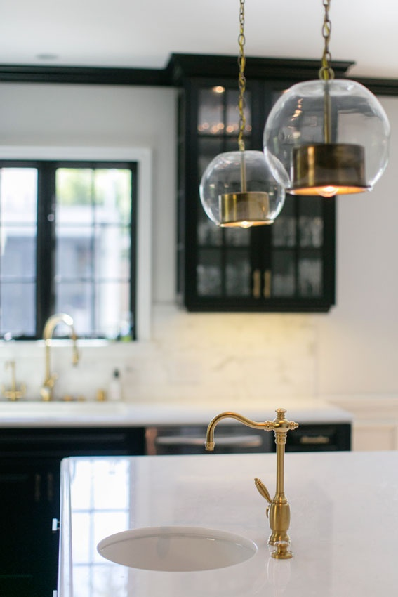 Top Design Trends, Gold Fixtures, Courtesy Zillow