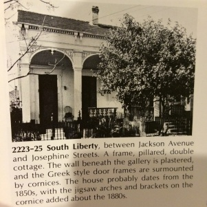 Courtesy: New Orleans Architecture, Volume I: The Lower Garden District