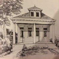 Courtesy: New Orleans Houses by Lloyd Vogt