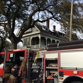 Historic New Orleans mansion lost to fire