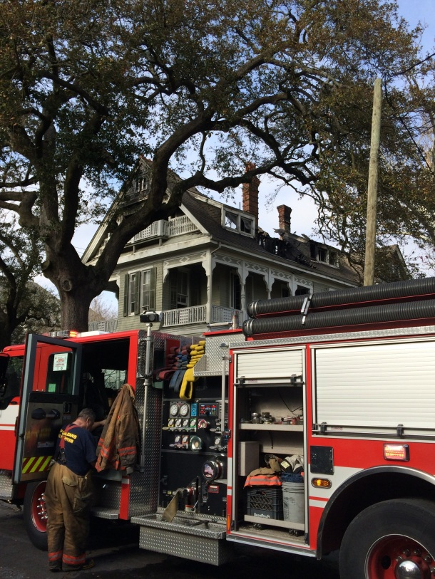 Garden District mansion gutted by fire