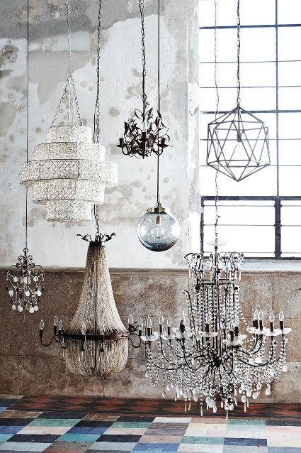 Anthropologie Spring 2015 Draped Bijoux Chandelier