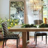 Anthropologie Spring 2015 Grassland Stripe Dining Chair