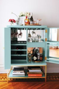 Anthropologie Spring 2015 Lacquered Bar Cabinet