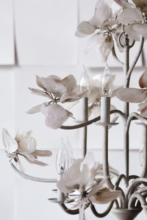Anthropologie Spring 2015 Pearled Magnolia Chandelier