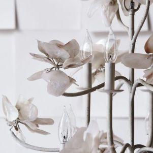 Anthropologie Spring 2015 Pearled Magnolia Chandelier