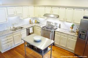 Light, bright kitchen renovation