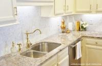 New sink and granite