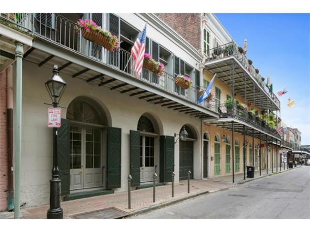 Angelina Jolie and Brad Pitt sell French Quarter home