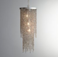 Restoration Hardware Baby and Child Athena Crystal Grand Chandelier