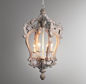 Restoration Hardware chandeliers at a fraction of theprice!
