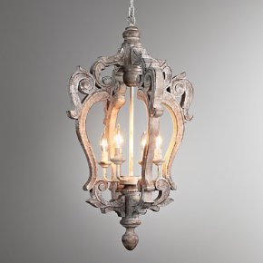Restoration Hardware chandeliers at a fraction of the price!