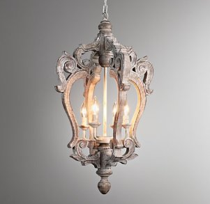 Restoration Hardware Baby and Child Millou Pendant